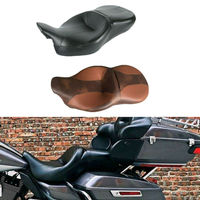 Motorcycle Rider and Passenger Seat For Harley Touring Electra Street Tri Glide Road King Ultra Limited FLHR FLHX FLTRX FLHTK