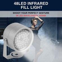 Nuevo 48 LED iluminador de Luz de longitud de Onda de 850nm IR LED CCTV IR de Infrarrojos de Visión Nocturna de Luz
