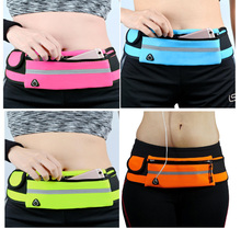 Mobile phone bag portable waterproof personal invisible multi-function belt