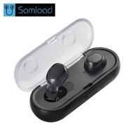 Samload Earphones In Ear Headphone Bluetooth Wireless Earbuds Hands Free Mobile Phone Bluetooth Earphone Mini Wireless