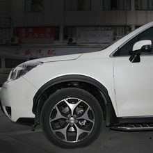 2 artículos de la ceja rueda de arco y mud flaps guardabarros guardabarros guardabarros para Subaru Forester 2013 2014 2015 2016 2017 año