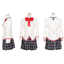 Anime Puella Magi Madoka Magica Cosplay Mitakihara Middle School Uniform Cosplay Costume Halloween Custom Made недорого