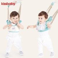 KISSBABY Cotton Baby Walker Harness Leash Toddler Anti Lost Wrist Link Safety belt Wings Walking Assistant Backpack Carrier