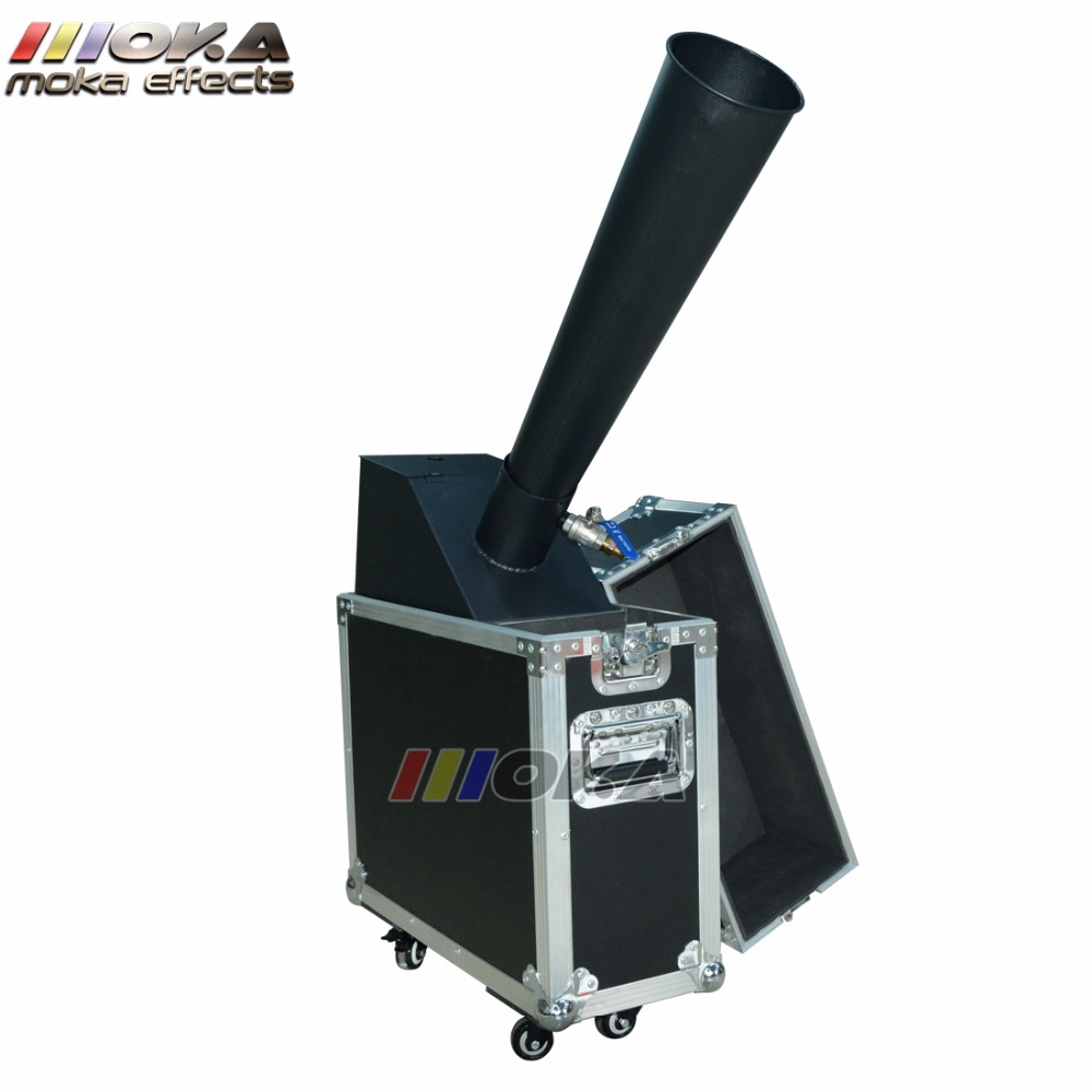 Image 2 - 1pcs/lot stage co2 confetti machine stage effect confetti cannon hand control co2 blaster jet 10m Flight case packing-in Stage Lighting Effect from Lights & Lighting