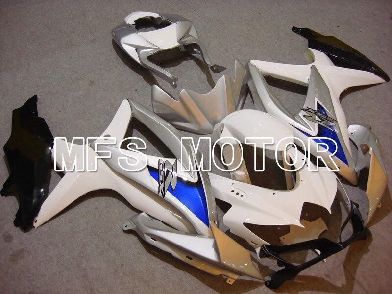 2008-2010 для Suzuki GSXR 600/750 К8 инъекции Зализа ABS - другие - Белый/серебро