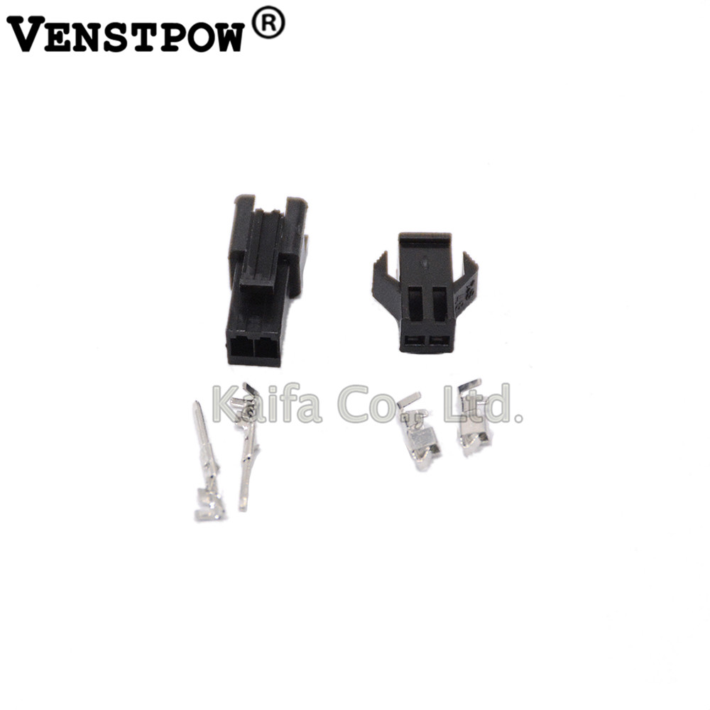 (100sets/lot)(connectors|SM) SM 2Pin Pitch 2.54MM Female and Male Housing + terminals SM-2P SM-2R JST 2.54MM SM2.54 sm j120fzkdser