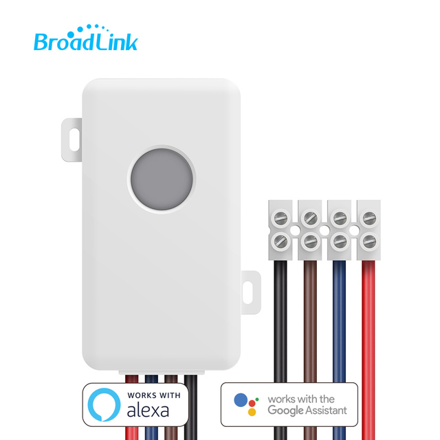 BroadLink SC1 10A DIY Wifi Switch Domotica Light Smart Home Automation Relay Module Controller for Google Home & Alexa