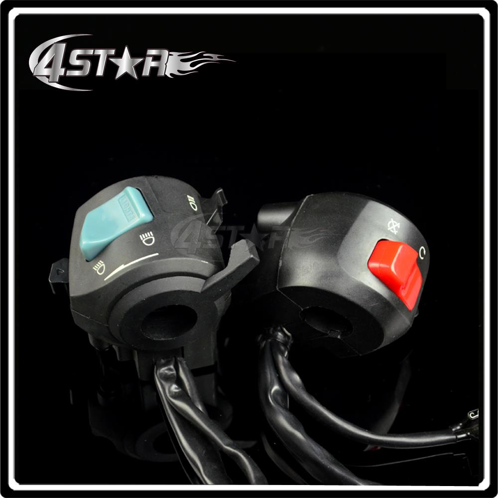 Headlight Switch Horn Button Turn Signal Switch For CB400 92 93 94 95 96 97 98 For Motorcycle ATV Racing Street Bike