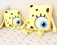 Gift For Baby 1pc 30cm Cartoon Funny Spongebob Big Eye Plush Hold Doll Cushion Girl Novelty