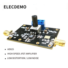 AD825 Module High Speed Amplifier Output Drive Capability Low Distortion Positive and negative5V to 15V Dual Supply