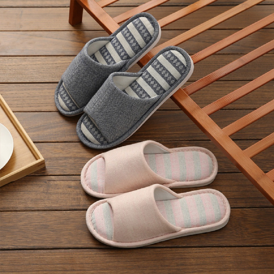 Woman Man New PVC+Cotton Slippers Indoor Chaussures Non-slip Shoes Femme Mules Fur Slippers Household Shoes Winter Autumn jooyoo 2
