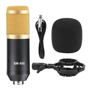 Image 5 - BM 800 Studio Microphone Condenser Microphone Vocal Record KTV Karaoke BM800 microfono For Radio Braodcasting Singing Mic Holder