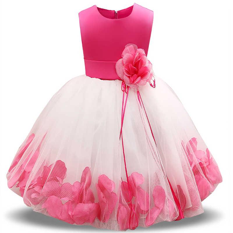 dccb25a9ce0c577 Необычные для девочек в цветочек Свадебные Свадебное Платье детская  брендовая одежда для девочек Платья для вечеринок