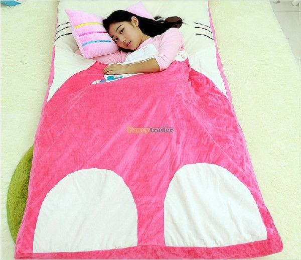 Fancytrader 200cm X 180cm Lovely Plush Stuffed Hello Kitty Mattress Bed Tatami Sofa Carpet, FT50670 (4)