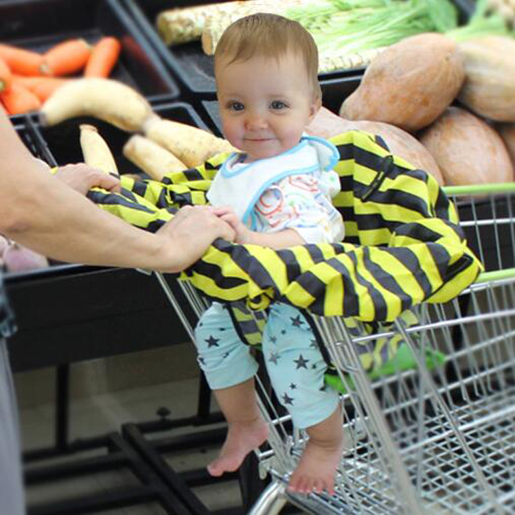 Portable Baby High Chair Shopping Cart Seat Cover