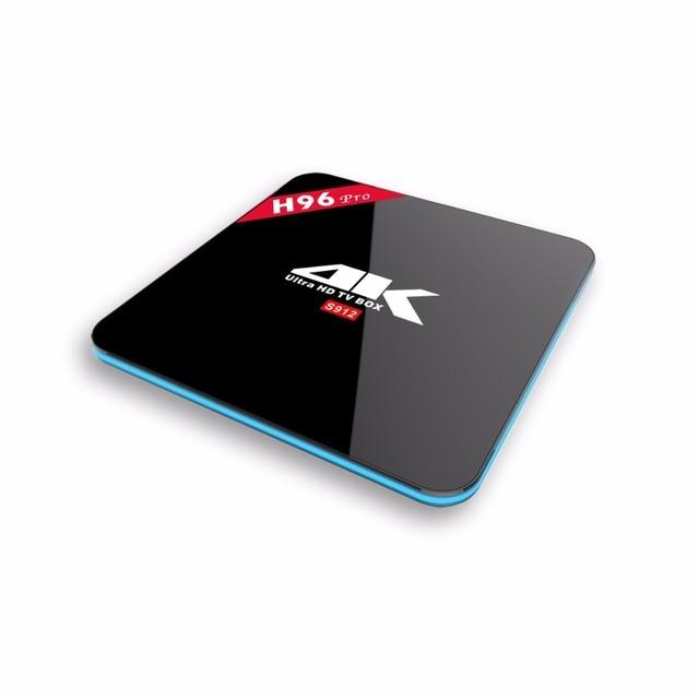 H96 PRO 4 K 3 GB 32 GB Inteligente Android 5.1 TV Box Amlogic S912 64bit OCTA Core KODI 16.1 WiFi H.265 Miracast Con Teclado