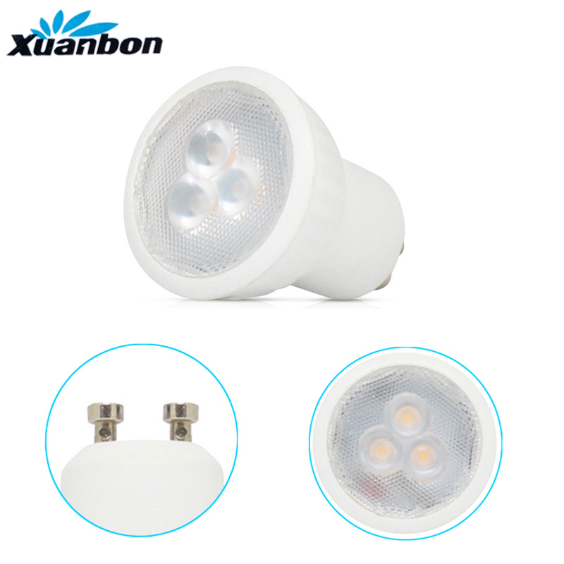 Dimmable LED Bulb Mini 3W GU10 MR11 AC85-265V 35mm Led Spotlights Warm White Natural White Cold White LED Lamp SMD 2835