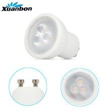Pode ser escurecido lâmpada led mini 3 w gu10 mr11 AC85-265V 35mm led holofotes branco quente branco natural branco frio lâmpada led smd 2835