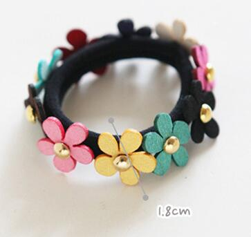 1 Pcs Floral Hair Accessories For Women Elastic Headband Hair Bands For Girls Hair Ornaments For Children
