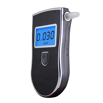 Prefessional Police Digital Breath Alcohol Tester Breathalyser With Black Colored Free shipping