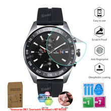 10Pcs/Lot(5Films+5Wipes)For LG Watch W7 W315 Smartwatch Protective Film Clear Guard Screen Protector Cover Tempered Glass