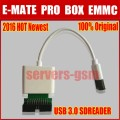 2016 Hot newest 100% original  MOORC E-MATE PRO USB 3.0 Sdreader and E-MATE PRO BOX EMMC work
