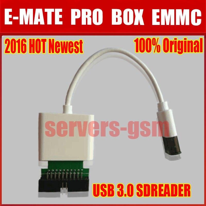 bilder für 2017 heißer neueste 100% original MOORC E-MATE PRO USB 3.0 Sdreader und E-MATE PRO BOX EMMC arbeit
