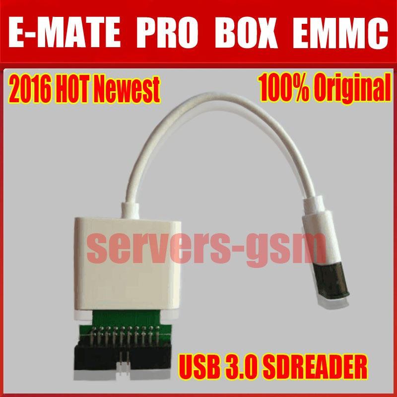 Hot Newest 100% Original Moorc E-mate Pro Usb 3.0 Sdreader And E-mate Pro Box Emmc Work Available In Various Designs And Specifications For Your Selection Telecom Parts