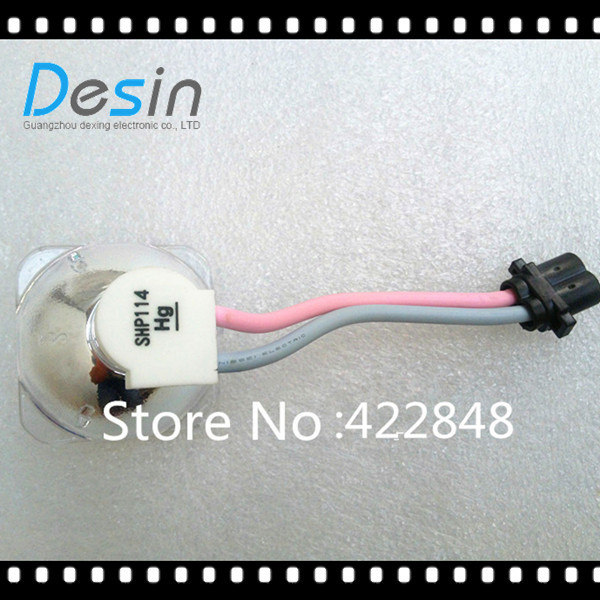 Phoenix SHP114 Original bare Lamp Bulb for LG DS325 DS-325 DS-325B free shipping shp114 original projector lamp bare lamp for lg ds325