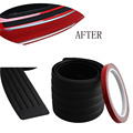 Car Styling Rubber Rear Guard Bumper Protect Trim Cover Pad Scuff Sill Protector Scuff For Skoda Octavia A7 Fabia Superb B6 Yeti