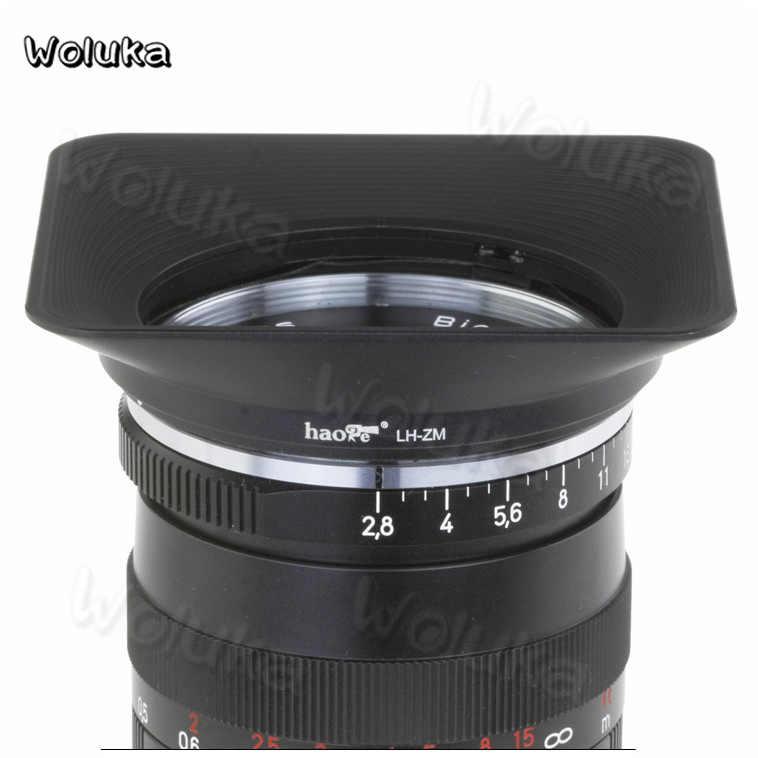 Camera Lens Hood Carl Zeiss 21/25mm F2 8 T* /4 5 hood ZM mouth lens square  for Z CD50 T06