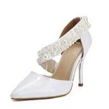 BC Schuhe Stiletto Heels/Spitz Pumpen/Heels Party & Abend/Kleid/Casual Schwarz/Weiß