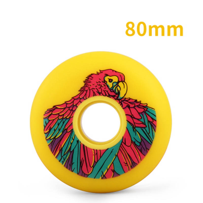 Free Shipping Parrot Roller Skate Wheels Full Meat High Elasticity 83 A