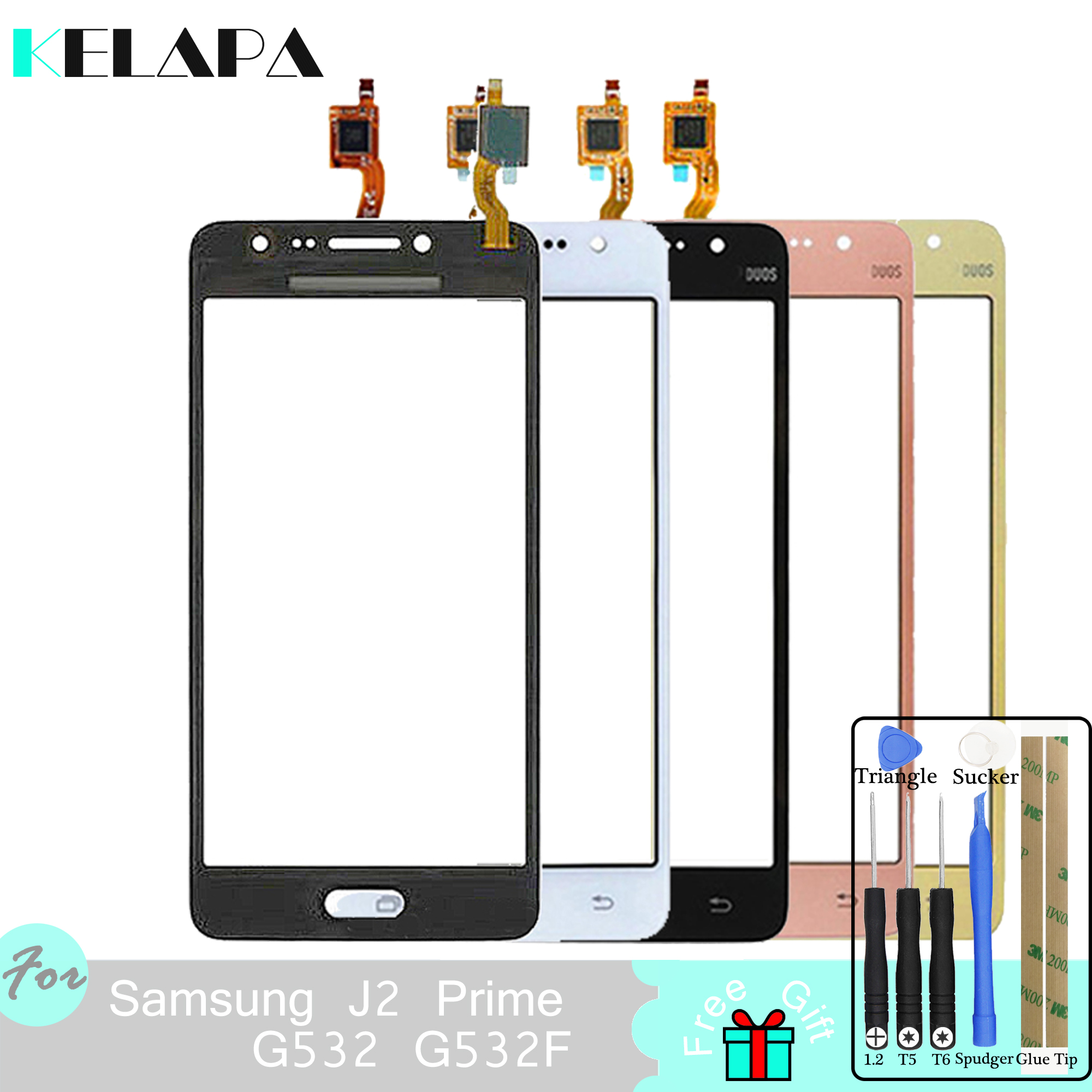 Brand New Touch Screen For Samsung Galaxy  J2 Prime G532 G532F 5 Digitizer Panel Sensor With Tools
