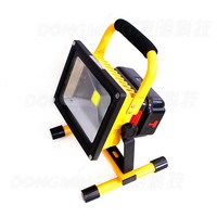 10W Emergency led reflector Rechargeable Portable floodlight 110V 220V Cordless Led flood light Waterproof IP65 camping outdoor