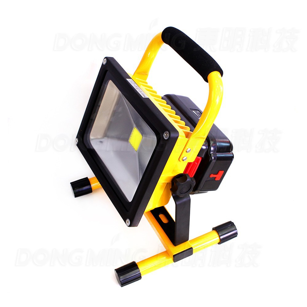 10W Emergency led reflector Rechargeable Portable floodlight 110V 220V Cordless Led flood light Waterproof IP65 camping outdoor portable led floodlight 10w rechargeable ip65 waterproof outdoor lantern hand led light for camping fishing work emergency lamps