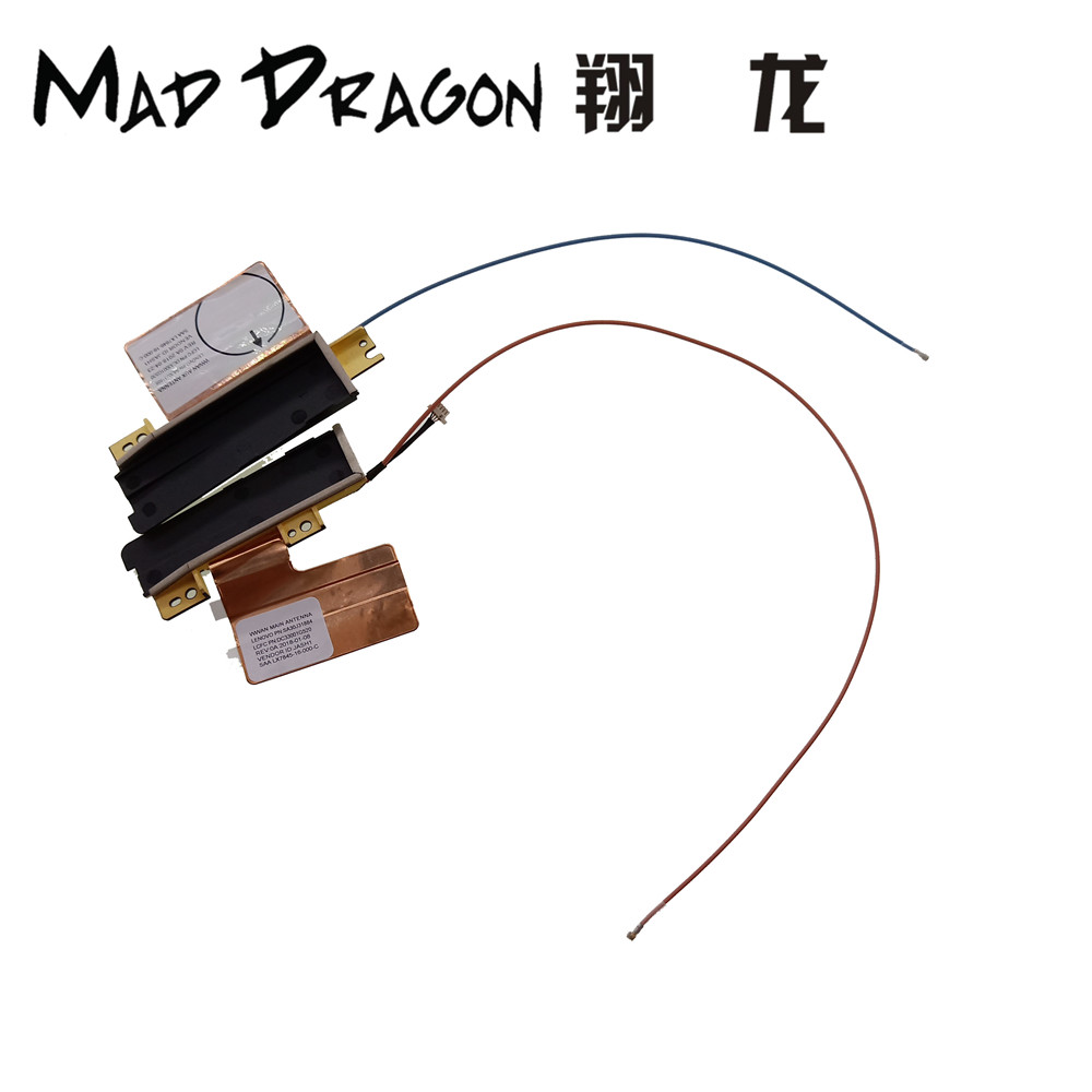 MAD DRAGON new Brand Laptop WLAN+WWAN 3G 4G Antenna cable for Lenovo ThinkPad X1 Carbon 2017 5th 01LV468 01LV467 LX7845 LX7846 image