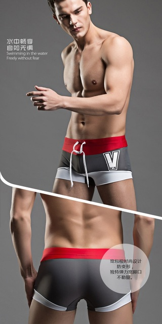 PENERAN 2019 Swimming Trunks Men Dry Fit Splice Swimwear Man Bathing Swim Briefs Holiday Swimsuit Beach Shorts Wear Diving XXL M