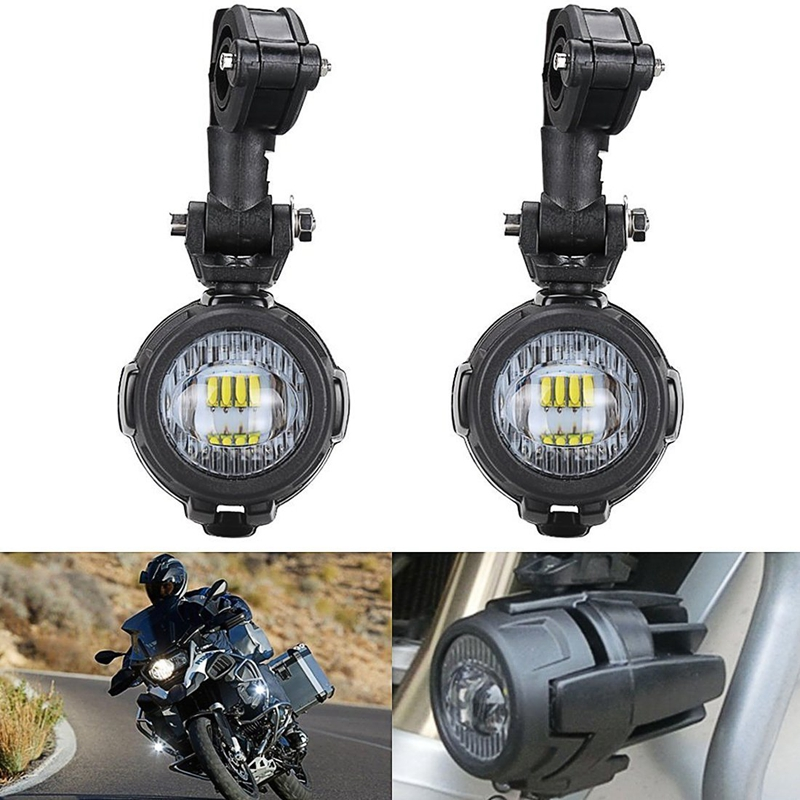 40W LED Auxiliary Lamp 6000K Super Bright Fog Driving Light Kits Led Lighting Bulbs DRL For Motorcycle BMW K1600 R1200G