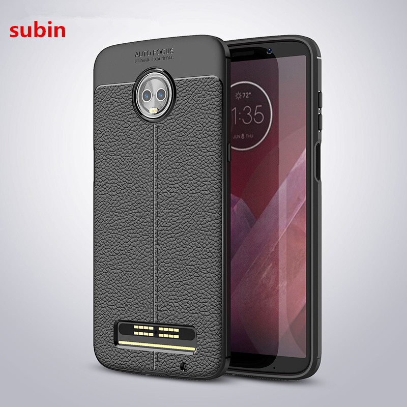 For Motorola Moto Z3 Play Case Cover Silicone Soft TPU