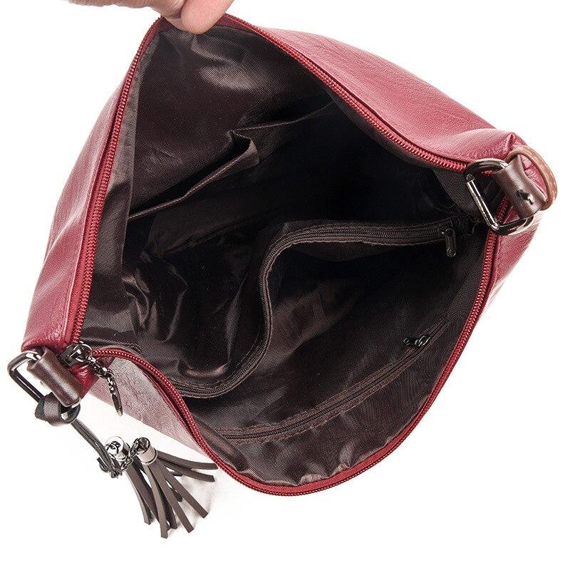 Borse Grande grigio Il handle Messaggero Sacchetto rosso viola Donne Tote Nero Top Lusso A Delle Capacità Spalla Cuoio Del Mano Di Della Feminina Signora 1wxxqFOXH