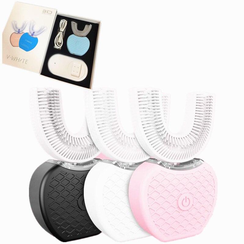 Zmywalny automatyczne elektryczne szczoteczki do zębów szczoteczka do zębów ultrasonik do ponownego ładowania dorosłych dla urządzeń do pielęgnacji ciała szczoteczka do zębów w Elektryczne szczoteczki do zębów od AGD na  Grupa 1