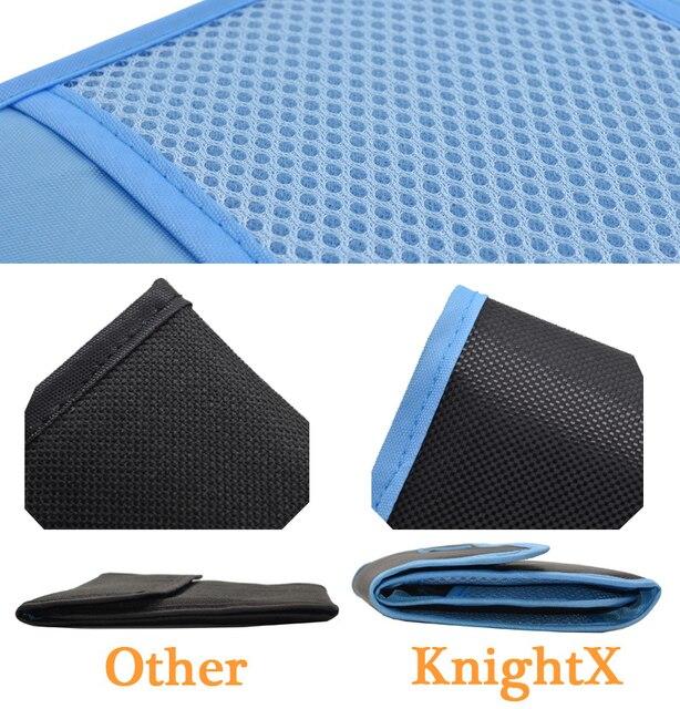 KnightX 49mm 52mm 58mm 67mm 72mm 77mm boîtier de filtre dobjectif dappareil-photo fundas sac support de la boîte pochette pour Canon NIKON SONY UV CPL ND STAR