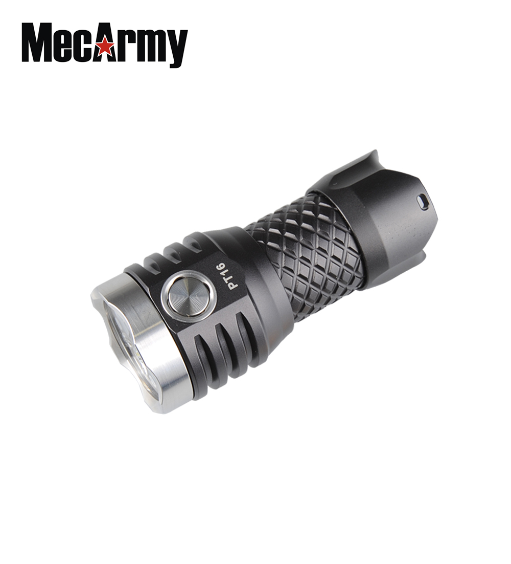 MECARMY PT16 3*CREE XP-G2 S4 1100 Lumens Ultra Bright USB Rechargeable Compact Flashlight