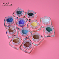 IMAGIC Eyeshadow Cream Set 12 Colors Waterproof Long Lasting Glitter Eyeshadow Cream Shimmer Eye Shadow Eyeline