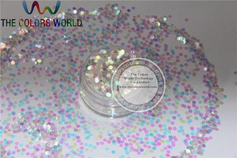2mm tamanho iridescente branco shinning cores brilho dot formas incriveis brilhos para a arte do prego