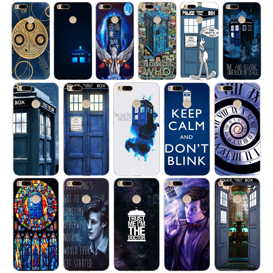 Forceful 121sd Tardis Doctor Who Soft Silicone Tpu Cover Phone Case For Xiaomi Redmi 4a 4x Note 4 4x Mi A1 A2 Lite Half-wrapped Case Phone Bags & Cases
