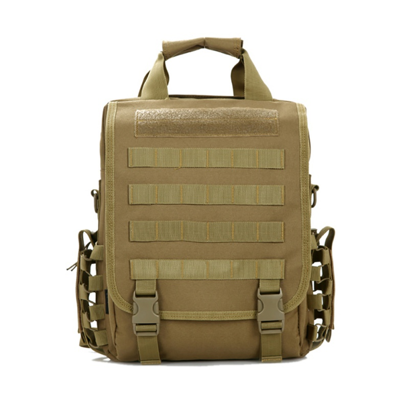 Outdoor single shoulder military bags Tactical backpack Men women camping hiking travel backpack 14 inch laptop bag sinairsoft 14 inch laptop tactical molle military backpack 800d nylon sports bag camping hiking waterproof men travel backpack