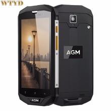 4050mAh AGM A8 Triple Proofing Phone 3GB+32GB IP68 Waterproof 5.0 inch Android 7.0 Qualcomm MSM8916 Quad Core 4G LTE OTG NFC