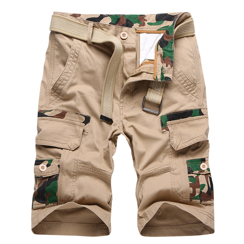 Summer 2019 Mens Military Cargo Shorts Brand New Army Tactical Loose Work Fashion Trousers